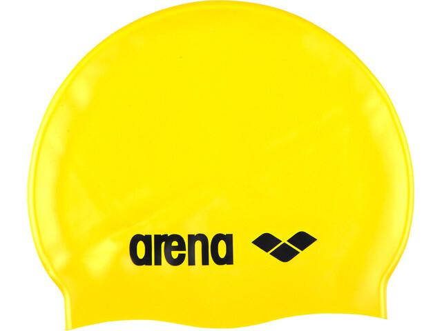 arena Classic Silicone - Bonnet de bain - jaune